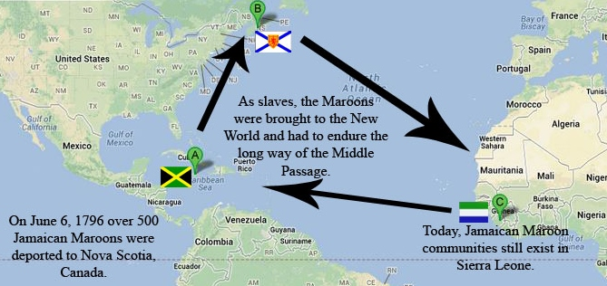 """Black history month: """"theMaroons"""""""